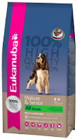 Eukanuba Mature & Senior All Breeds Lamb & Rice 12kg